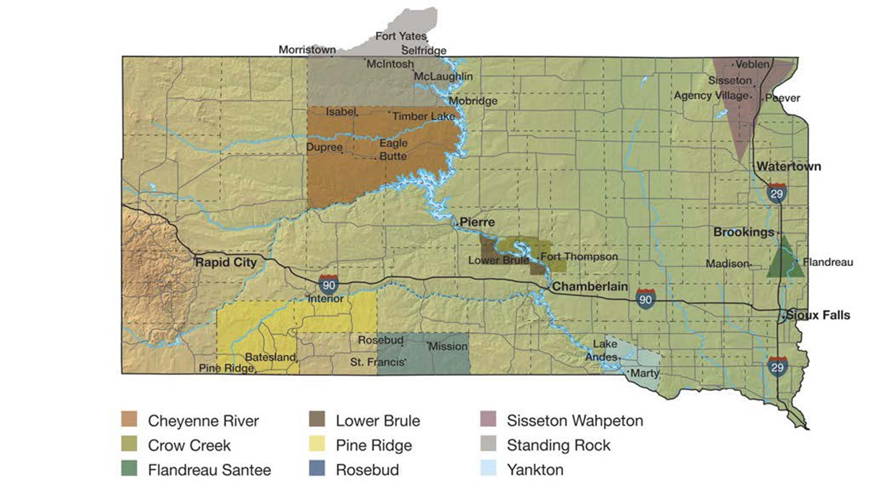 Native American Sd Map