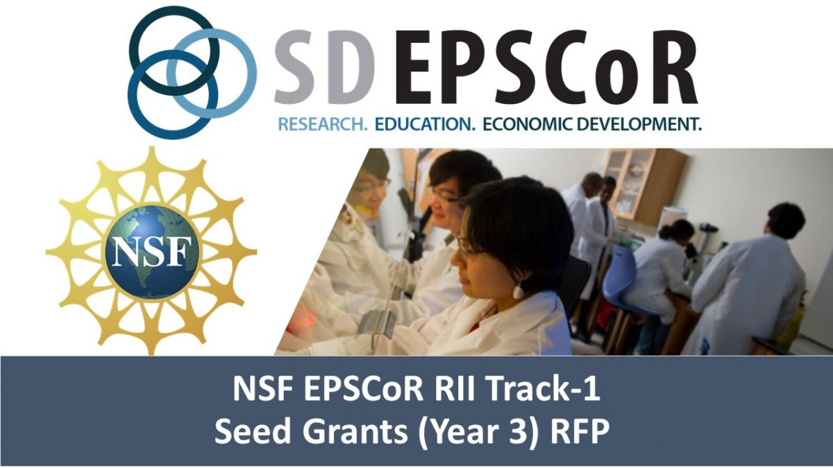 Track-1 Year 3 funding for seed grants