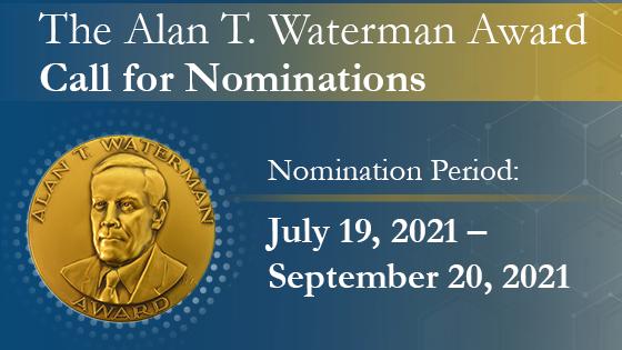 NSF Alan T Waterman Award