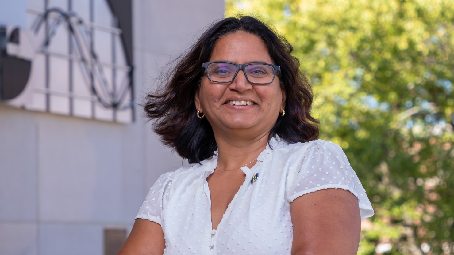 South Dakota State University assistant professor Anamika Prasad is the first Department of Mechanical Engineering faculty member to receive the prestigious National Science Foundation CAREER award, which supports innovative research by early-career faculty. Through the five-year, $531,740 grant, Prasad will use plants as an inspiration for designing and developing flexible composite materials.